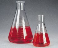 Erlenmeyer Flasks, Baffled  Nalgene®