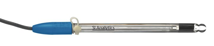 SI Analytics®  ScienceLine pH Combination Electrode with Temperature Sensor and Sensor Recognition A 161 1M-DIN-ID